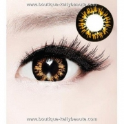 LENTILLES DE CONTACT HR BIG-EYES COULEUR MARRON