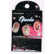 STRASS ONGLES PETALE ROSE FUCHSIA