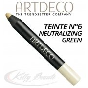 CAMOUFLAGE STICK N°6 NEUTRALIZING GREEN - ARTDECO