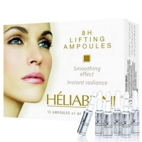 8H LIFTING AMPOULES smoothing effect, instant radiance - HELIABRINE