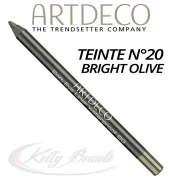SOFT EYE LINER WATERPROOF N°20 BRIGHT OLIVE - ARTDECO